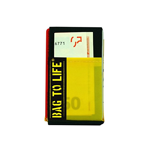 BAG TO LIFE Travel safe Wallet Geldbeutel Portemonnaie Upcycling aus einer Rettungsweste