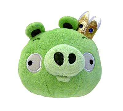 Angry Birds Plush 8-Inch King Pig with Sound
