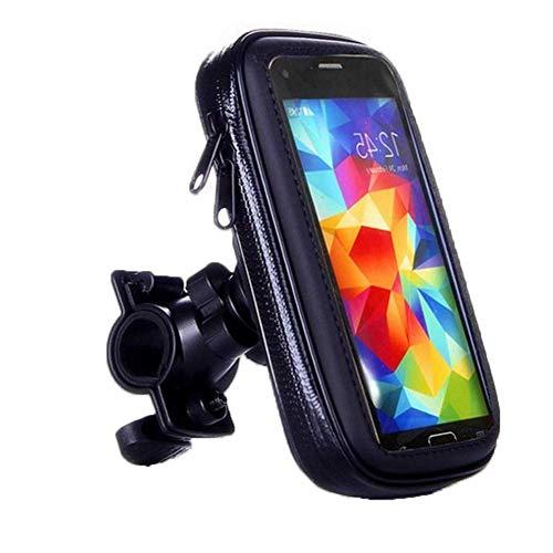 Kiner - Bolsa para bicicleta, soporte para teléfono de bicicleta, impermeable, universal, soporte para bicicleta, moto, bicicleta de montaña, scooter (4,7 pulgadas)