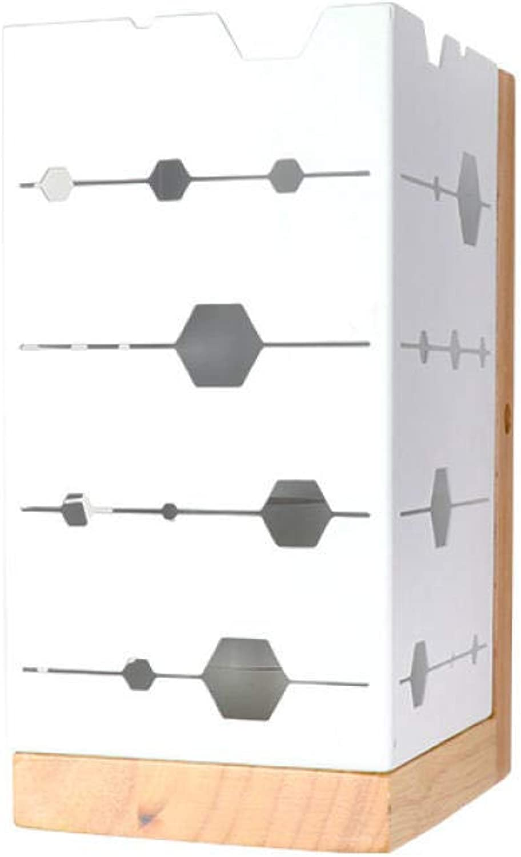 YAOUDWL Einfache Weie Wandlampentreppenwohnzimmer-Schlafzimmerhohleisenpersnlichkeit Kreativ Mit Led-Weilicht 5W Glühbirne