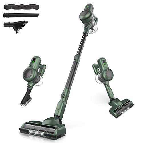 ORFELD Cordless Vacuum, Stick Vacuum Cleaner...