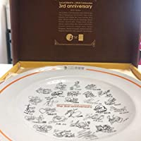 SKE48サイン カレー皿