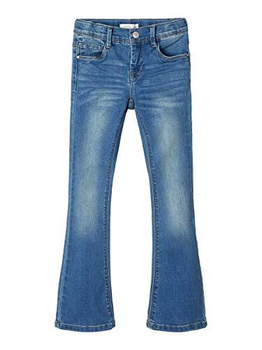 NAME IT Girl Bootcut-Jeans Dehnbare 152Medium Blue Denim