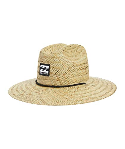 Billabong Men's Classic Straw Lifeguard Hat, Natural, One Size