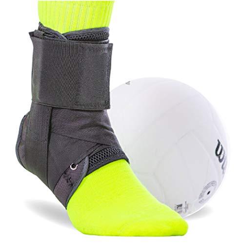BraceAbility Volleyball Ankle Brace