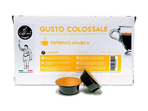 50 Capsule Caffè Arè Miscela Arabica Compatibili Con Macchine Lavazza Firma e Vitha Group