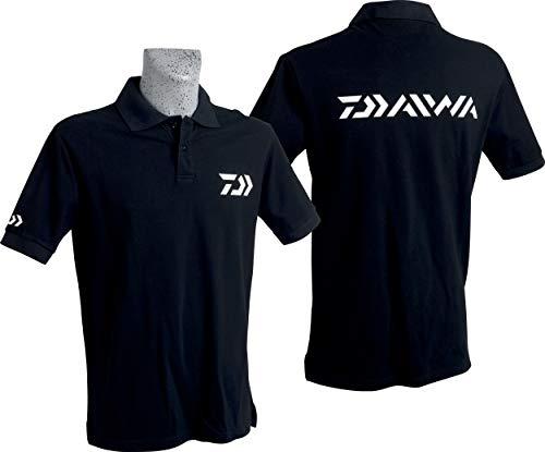 JAPAN DAIWA Polo Manches Courtes - XXL - Noir - PNXXL
