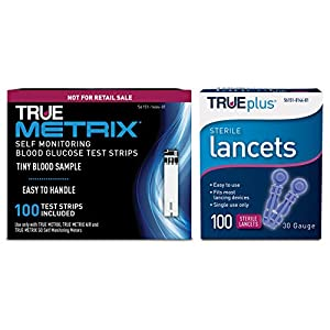 buy  100ct TRUE METRIX® NFRS Test Strips + 100ct ... Blood Test Strips