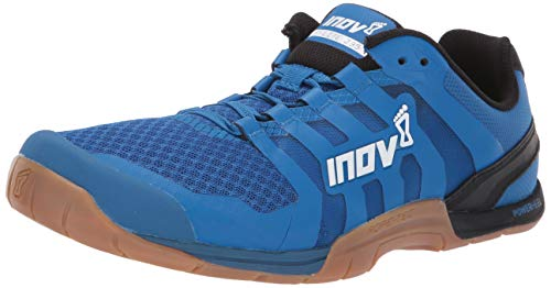 Inov-8 Mens F-Lite 235 V2 - Lightweight Minimalist Cross Training Shoes - Zero Drop - Athletic Shoe for Gym, Training and Weight Lifting - Wide Toe Box - Blue/Gum 7 M UK