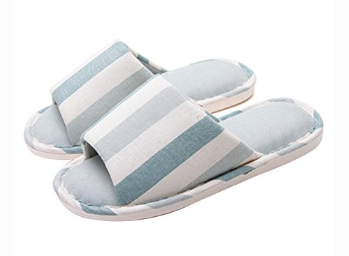 (Made By Cotton) Skidproof Le Style Simple De Pantoufles(Bande)