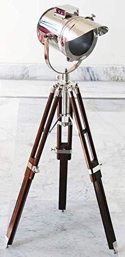 Varmohey Nautical - Lámpara de mesa con trípode