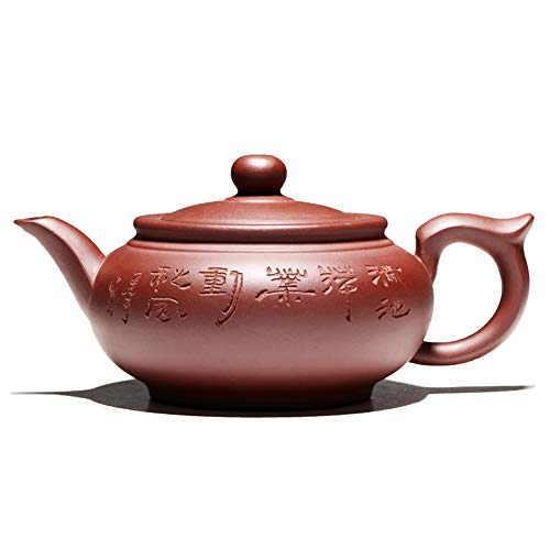 Kung Fu Tee Set Yixing Teekanne Handgemachte Teekanne Tasse Set 350ml Zisha Keramik Tee Zeremonie Geschenk Bonus 4 Tassen