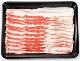 やんばる島豚あぐー ≪黒豚≫ バラ しゃぶしゃぶ用 500g フレッシュミートがなは 沖縄のブランド黒豚 脂肪が甘く旨み成分豊富な豚肉