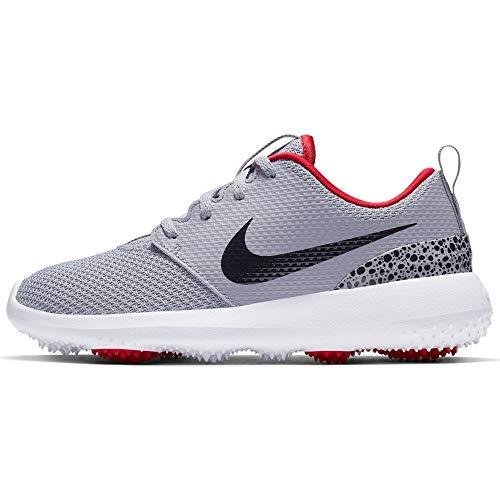 Nike Jungen Roshe G Jr Golfschuhe, Grau (Gris/Rojo 004), 36 EU
