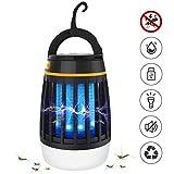 Dkinghome 1 Piège à Fourmis Camping Lanterne Rechargeable Lumière Extrérieur Abeille Tueur Répulsif LED Portable Electrique 3...