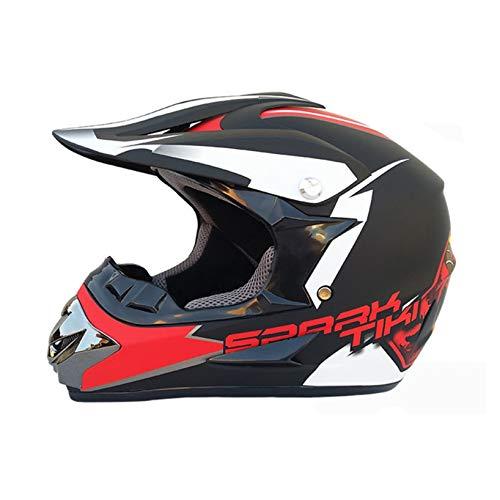 Unisex Adult Off Road Full Face Motocross Helmets Road Race Motorbike Helmet With Visor Breathable Moto Motorcycle Safety Caps