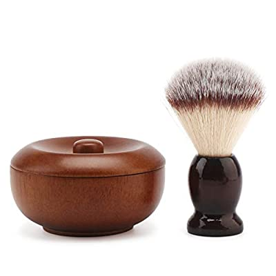 Shave Lather Brush Wooden