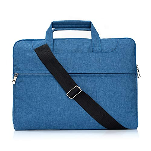 YCDZ STORE Netbook Tasche Tragbare One Shoulder Handheld-Laptoptasche mit Reißverschluss, for Macbooks bis 15,4 Zoll, Samsung, Lenovo, Sony, Dell Alienware, CHUWI, ASUS, HP (Schwarz) (Farbe : Blue)