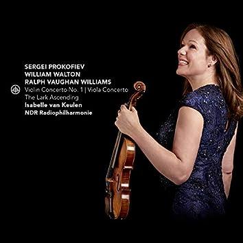 Prokofiev: Violin Concerto No. 1 - Walton: Viola Concerto - Vaughan Williams: The Lark Ascending