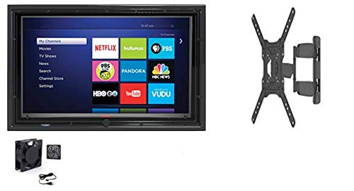 Read About The TV Shield 30-32 Anti-Glare Outdoor TV Enclosure, Combo Pack (Full Motion Mount and F...