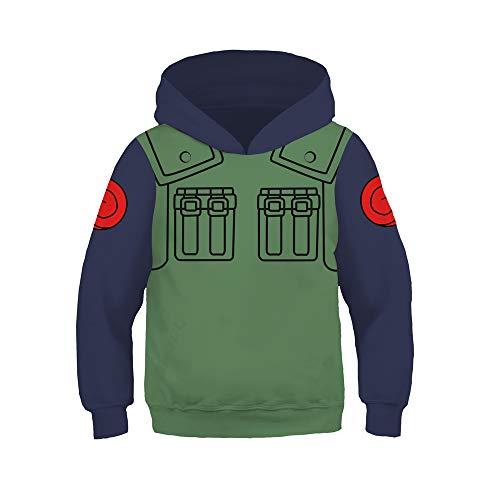 My Sky Anime Pullover Hoodie Jacket Cosplay Costume Casual Sweatshirt Green