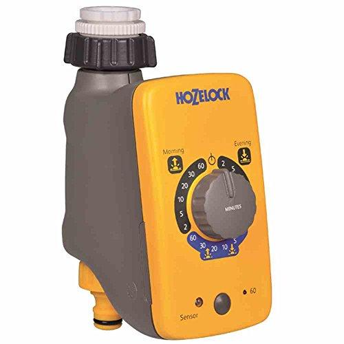 Hozelock Programador de riego Sensor Controller 2212 0000-Programador, Amarillo, 0.85x13.5x21.6 cm