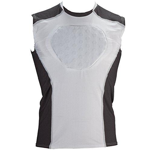 Cramer Youth Protective Baseball Shirt (White, Medium)