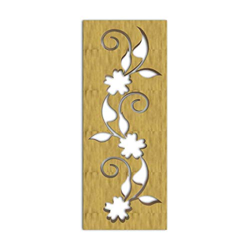 Best Review Of NISH! Decorative Carved MDF Wood Wall Panels for Room Partition, Screen, Divider, Doo...