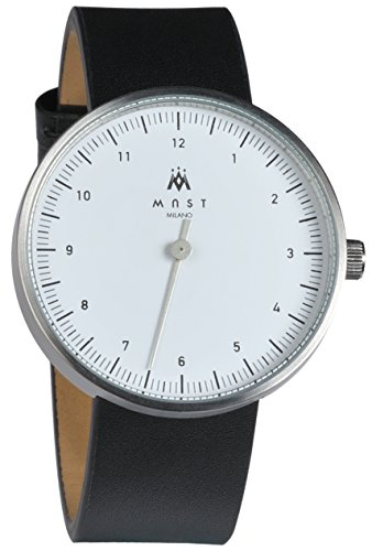 MAST MILANO SL103WH01-L-UNO - One Hand Man Watch Ultra Slim