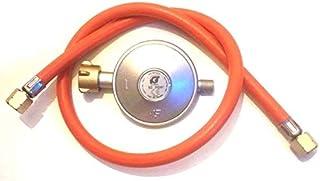 TAINO Gasregler Druckminderer 50mbar  Gasschlauch 80cm Druckregler Gasgrill