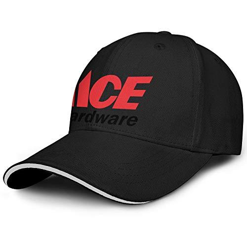 Unisex Man's Baseball Hat Hipster Adjustable Captain Ace-Hardware-Logo-Symbol-Flat Caps