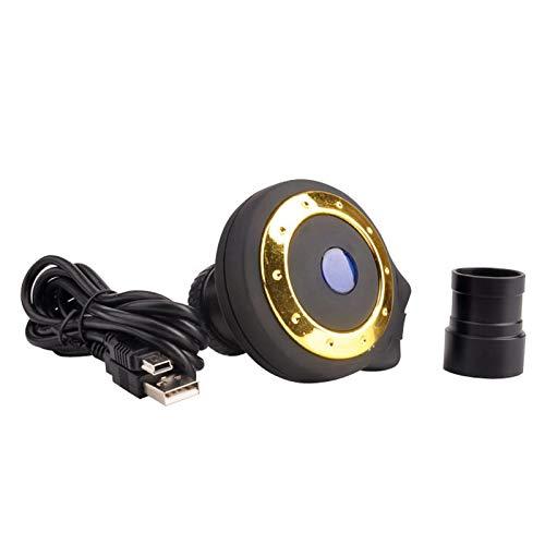 Iycorish CáMara Ocular Digital con Telescopio para AstrofotografíA y ObservacióN - con Puerto USB y Sensor CMOS de Imagen (3.0MP CMOS para Telescopio)