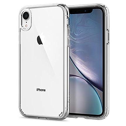 Spigen Funda Ultra Hybrid Compatible con iPhone XR - Transparente