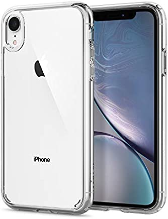 【Spigen】 スマホケース iPhone XR ケース 6.1インチ 対応 クリア 米軍MIL規格取得 耐衝撃 カメラ保護 衝撃吸収 Qi充電 ワイヤレス充電 ウルトラ・ハイブリッド 064CS24873 (クリスタル・クリア)
