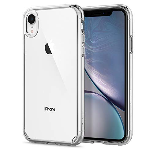 Spigen Funda Ultra Hybrid Compatible con iPhone XR - Transparente