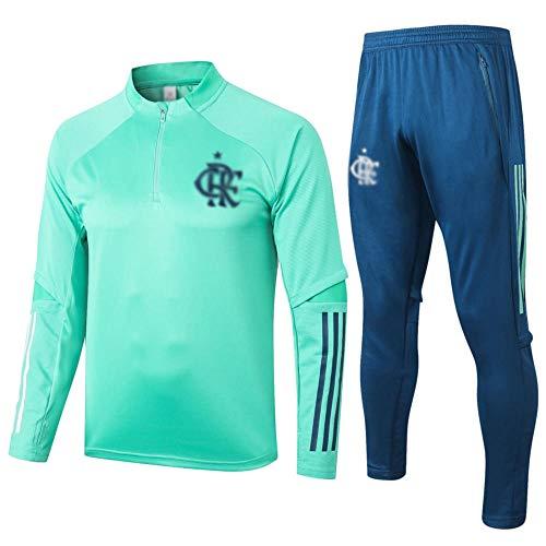MVNTOO Club de fútbol Europeo, Traje de Chaqueta de fútbol para Hombre, Camiseta de Entrenamiento, Hecho por fanáticos. - Fútbol238-verde_Metro