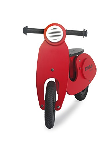 Draisienne scooter rouge
