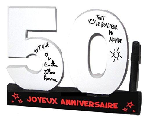 P2G - Dédicaces 3D anniversaire 50 ans - 23 x 29 cm