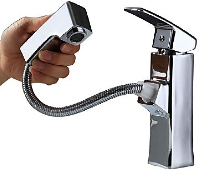 Bathroom Sink Faucet RY Contemporary CentersetCeramic Valve Single Handle One Hole for Chrome