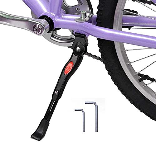 "SALTOUSA Adjustable Bike Kickstand with 2 Allen Hexagon Wrenches, Bicycle Kickstand for 16"" 18"" 20"" Kids Bike"