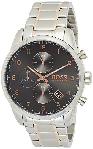 Hugo Boss Quarz Uhr mit Edelstahl Armband 1513789