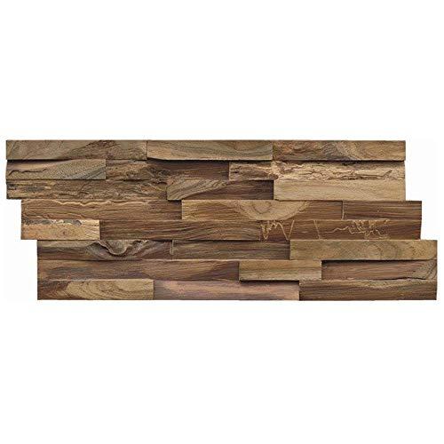 INDO Edel-Holz-Wandverkleidung Teak Elegance (Nature)