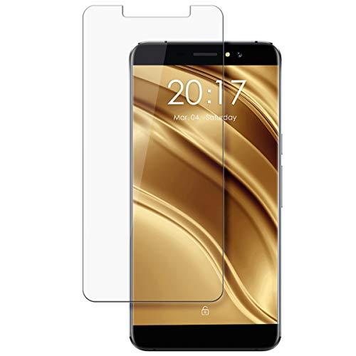 disGuard Protecteur d'écran [Crystal-Clear] Compatible avec Ulefone S8 Pro [2 Pièces] Limpide, Transparent, Invisible, Extrêmement résistant, Anti-Empreinte Digitale - Film Protecteur
