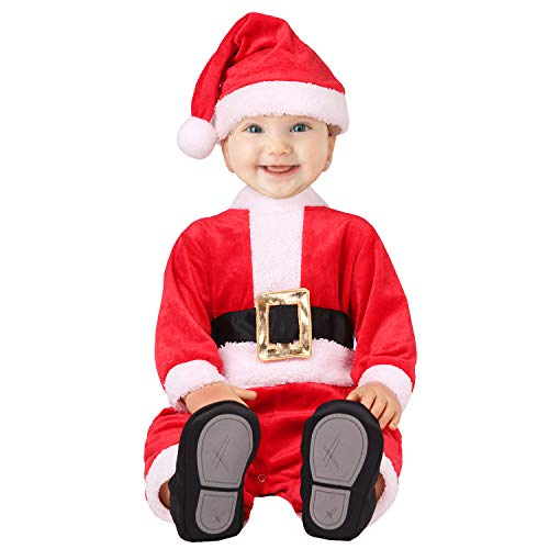 XXOO Infant Baby Boys Girls Santa Claus Costume Christmas Dres up (100cm), Red