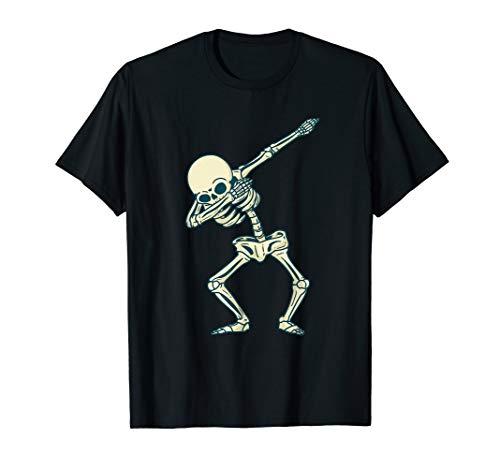 Skillet Totenschädel T Shirt Dab Pose Für Dabbing Liebhaber T-Shirt