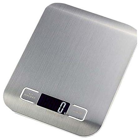 MUHWA Balance de Cuisine Electronique, 5kg/1g, Multifonctionnel Balance de Cuisine Précision, Balance de Précision Digital, Balance Alimentaire Tactile Sensible, Noir LCD Rétroéclairé