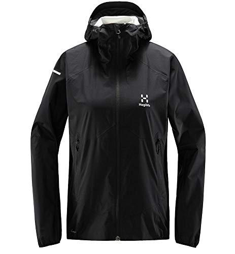 Haglöfs Regenjacke Frauen L.I.M Proof Multi Jacket wasserdicht, Winddicht, atmungsaktiv True Black S S