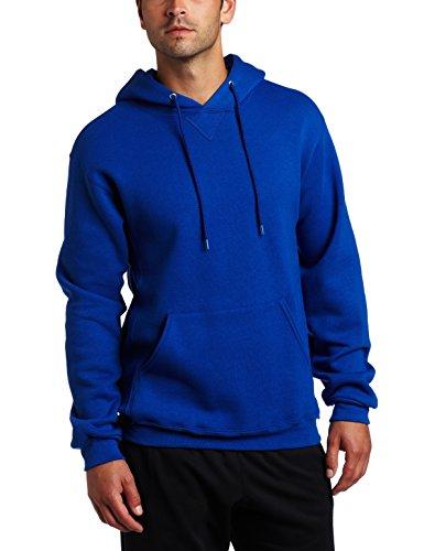Russell Athletic Men's Dri Power Pullover Fleece Hoodie, Royal Blue, Medium