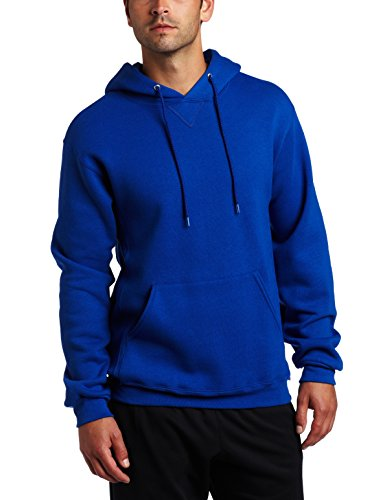 Russell Athletic Men's Dri-Power Pullover Fleece Hoodie, Royal Blue, Large