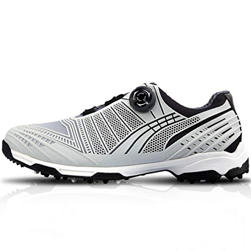 HCCX Golf Shoes-Biochemical transfer printing, 3D Air guide groove, BOA roterende veters, microfiber materiaal, Zomer ademende golf professionele sneakers